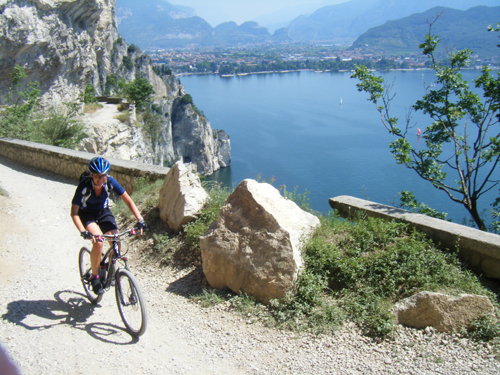 Mountain Biking at Lake Garda