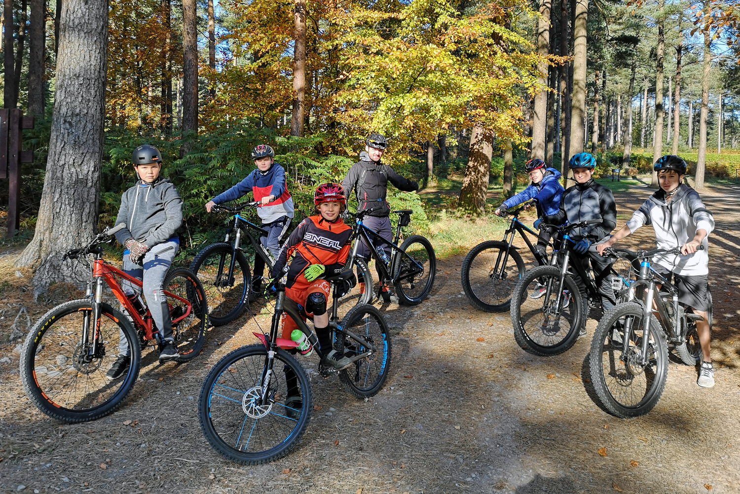 Mountain Bike Camps for Kids